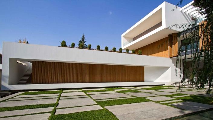 پروژه ویلایی خانه کبوتر برنده جایزه ی مجله معمار کاری از گروه معماری فتوره چیانی