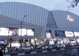پروژه مجتمع فرهنگی تجاری پردیس سینمایی زندگی واقع در تهران بزرگراه کاشانی