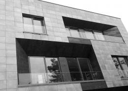 ویلای مسکونی ایران زمین واقع در شهرک غرب تهران کاری از مهندس کامران حیرتی