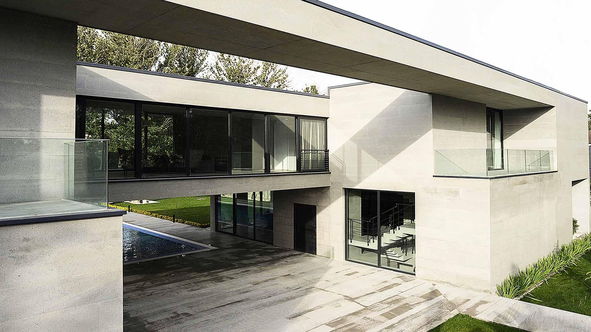 پروژه ویلای صفادشت برنده جایزه معمار سال 1395 کاری از دفتر معماری کامران حیرتی