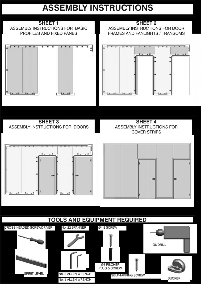 نصب پارتیشن شیشه ای سیستم در ب لولایی