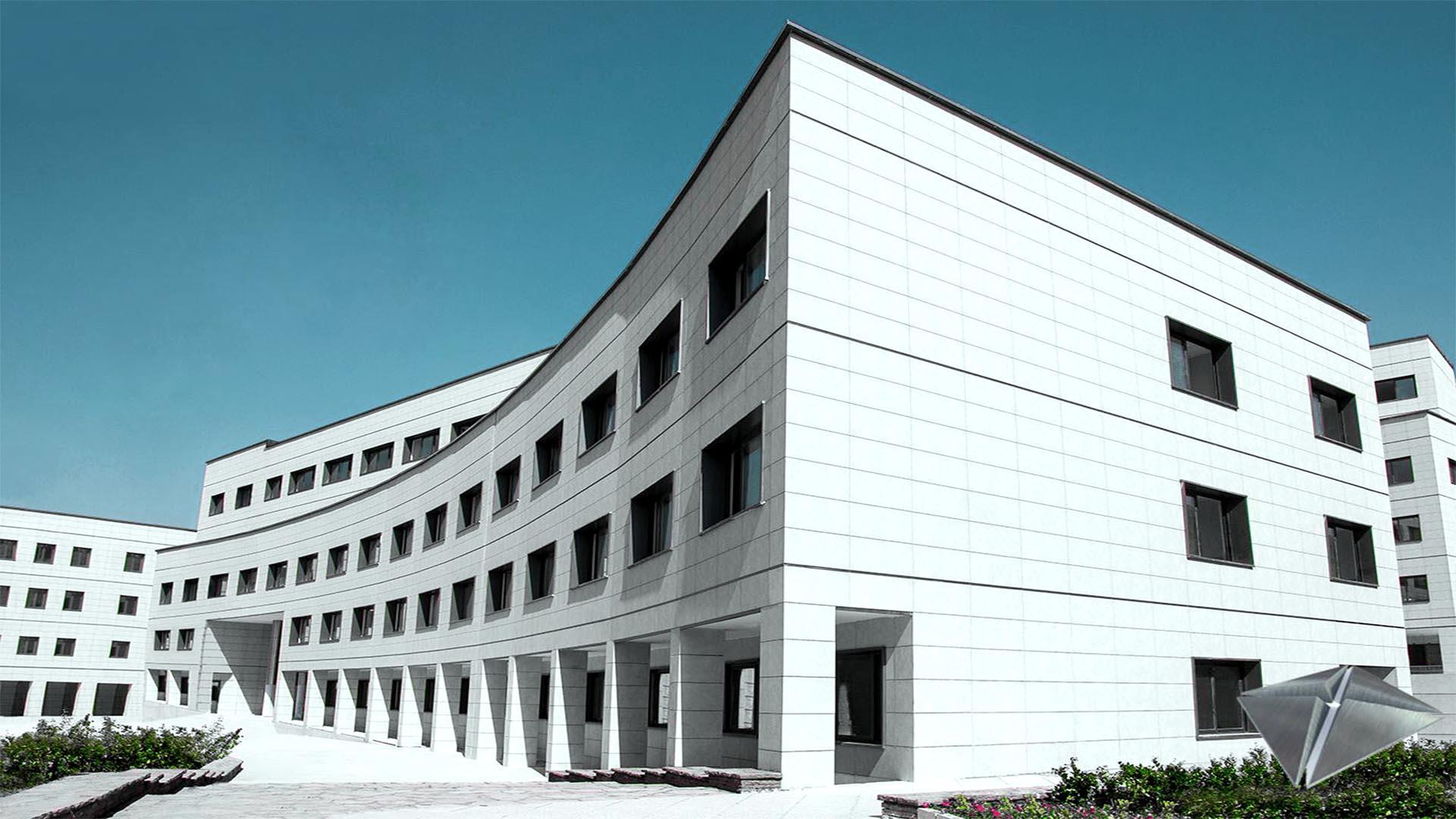پروژه مجتمع آموزشی دانشگاه آزاد واحد تهران شمال واقع در حکیمیه تهران